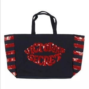Victoria's Secret XL Weekender Shopping Tote Bag